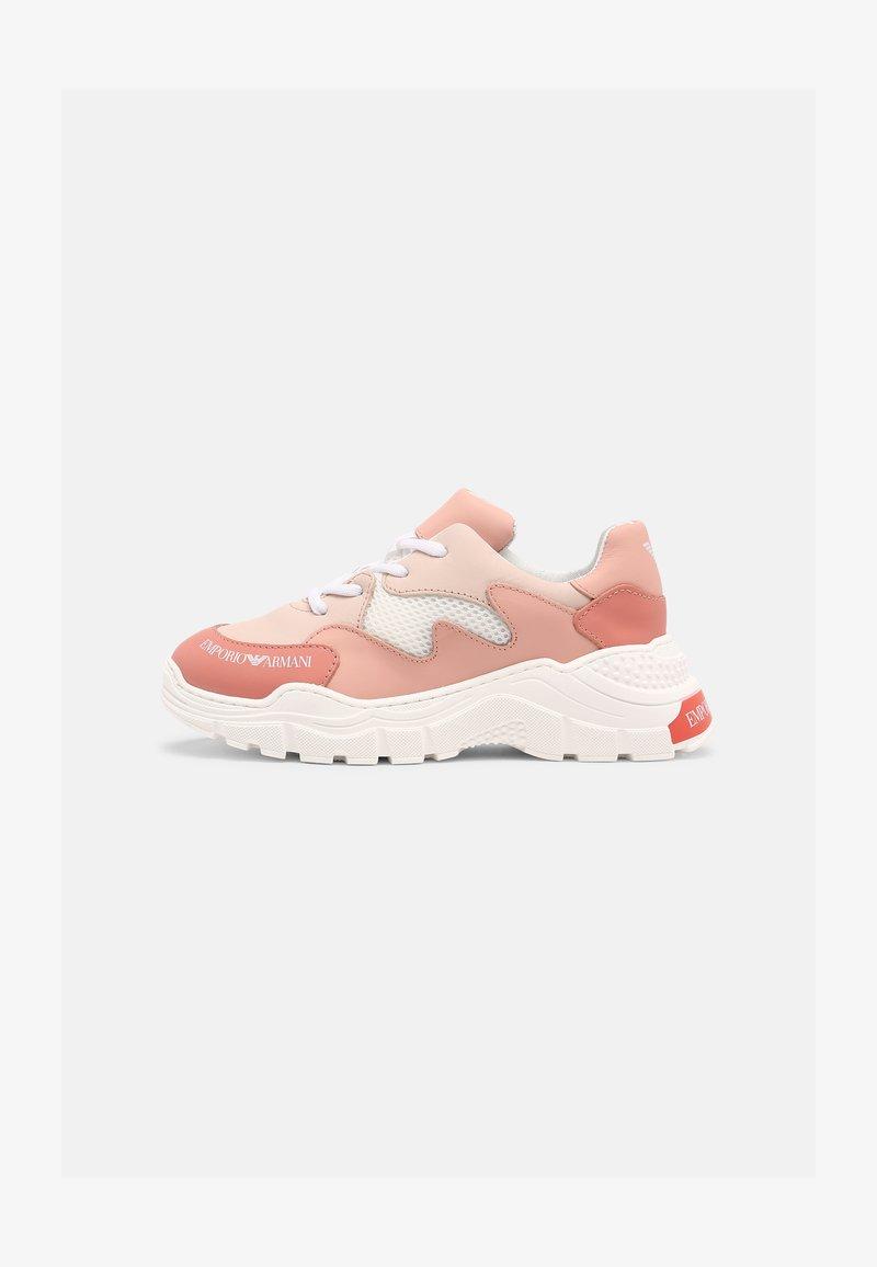 Emporio Armani - Trainers - light pink/white