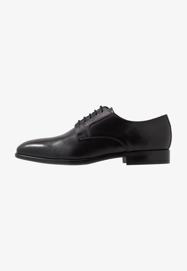 DANIEL - Veterschoenen - black