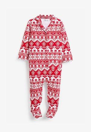 CHRISTMAS - Sleep suit - red