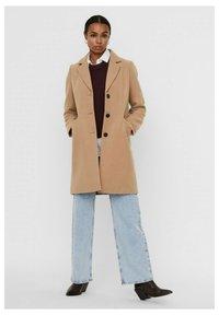 Vero Moda - Halflange jas - beige - 1