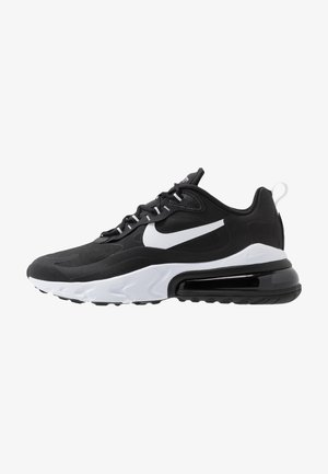 AIR MAX  REACT - Sneakersy niskie - black/white