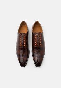 Melvin & Hamilton - LANCE 28 - Elegantní šněrovací boty - mid brown - 3