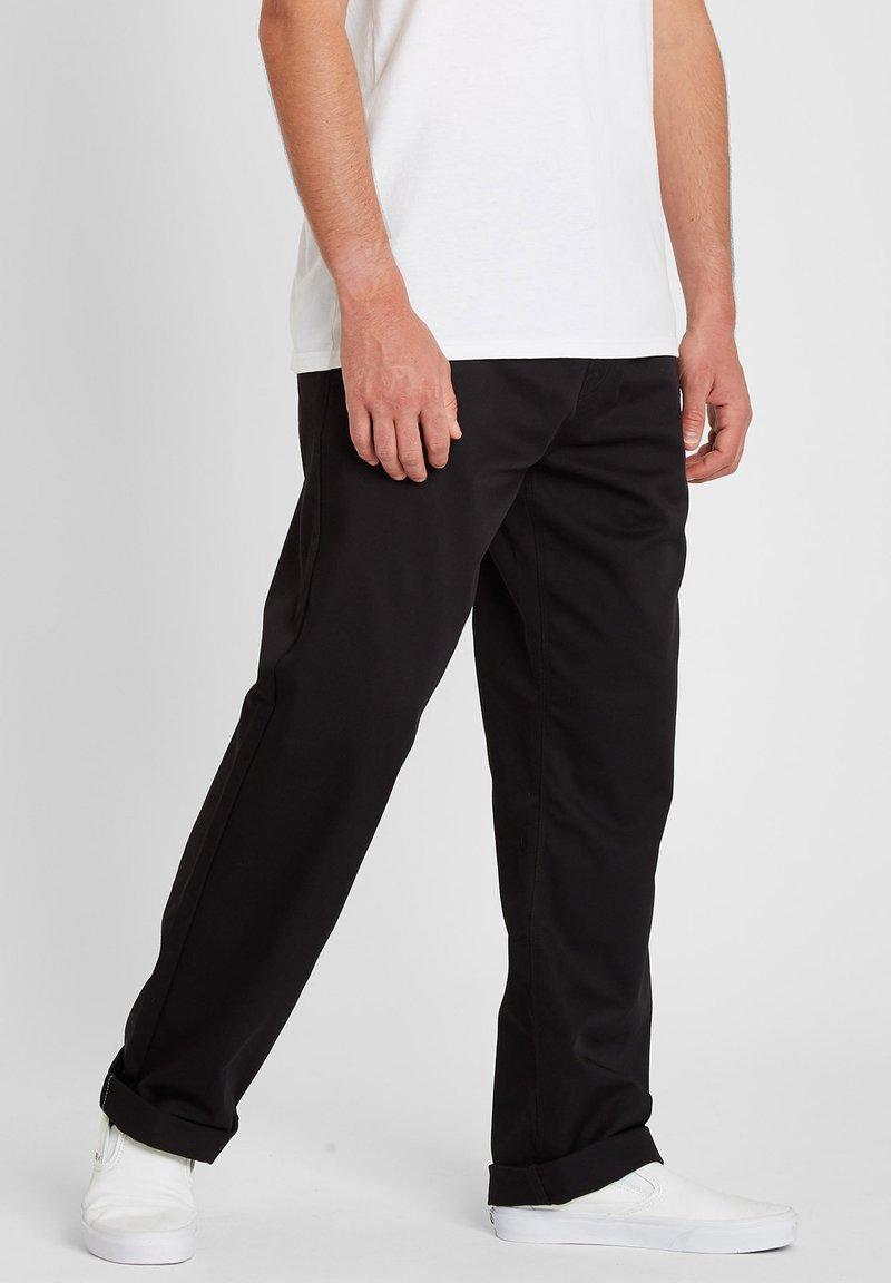 Volcom - FRICKIN SKATE CHINO PANT - Chino kalhoty - black