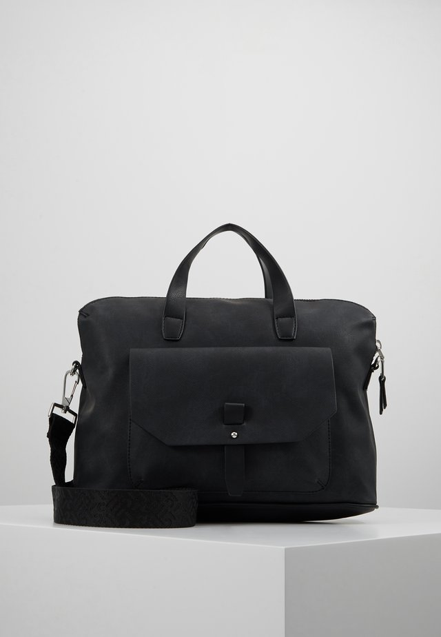 ISA WORKING BAG - Torba na laptopa - black