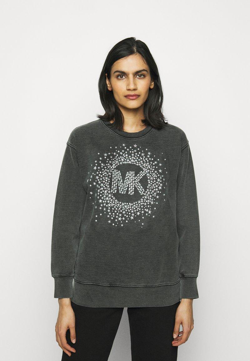 MICHAEL Michael Kors - ACID STAR STUD - Sweatshirt - black
