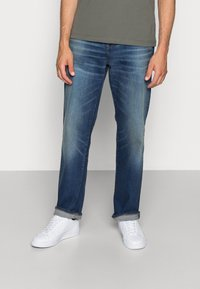 G-Star - 3301 LOOSE FIT - Relaxed fit jeans - joane stretch denim - worker blue faded - 0