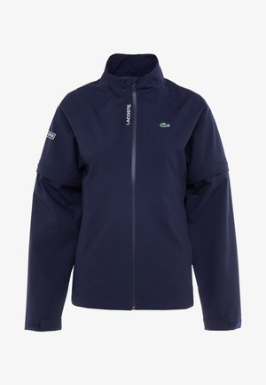 HIGH PERFORMANCE JACKET 2 IN 1 - Outdoor jacket - navy blue/white