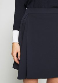 MAX&Co. - CANALI - A-line skirt - midnight blue - 5