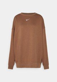 Nike Sportswear - Sweatshirt - archaeo brown/white - 0