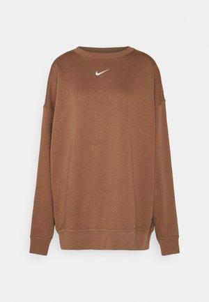 Sweatshirt - archaeo brown/white