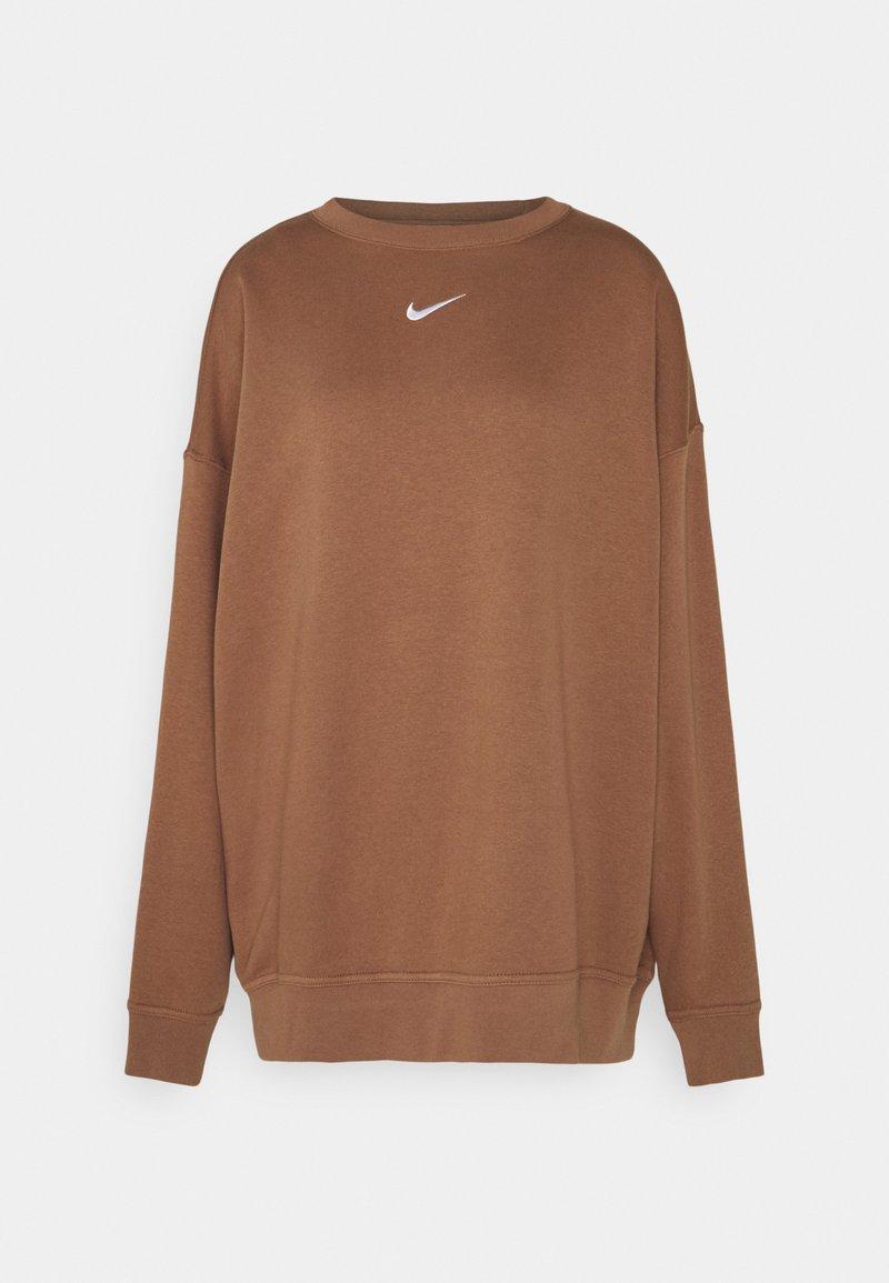 Nike Sportswear - Sweatshirt - archaeo brown/white