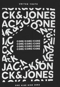 Jack & Jones Junior - JCOAKE CREW NECK  - Print T-shirt - black - 2