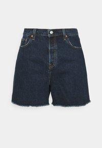 Levi's® Plus - 501 ORIGINAL - Denim shorts - dark blue denim - 0
