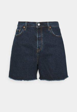 501 ORIGINAL - Denim shorts - dark blue denim