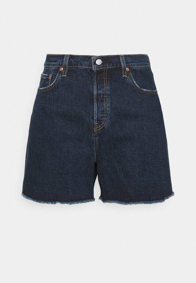 501 ORIGINAL - Jeansshort - dark blue denim