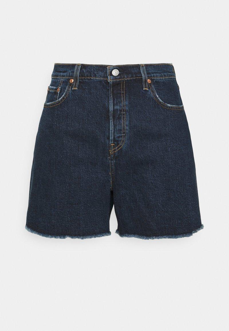 Levi's® Plus - 501 ORIGINAL - Denim shorts - dark blue denim