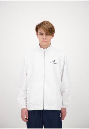 CARSON  - Training jacket - wht/nav