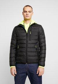TOM TAILOR DENIM - LIGHTWEIGHT PADDED JACKET - Winter jacket - black - 0