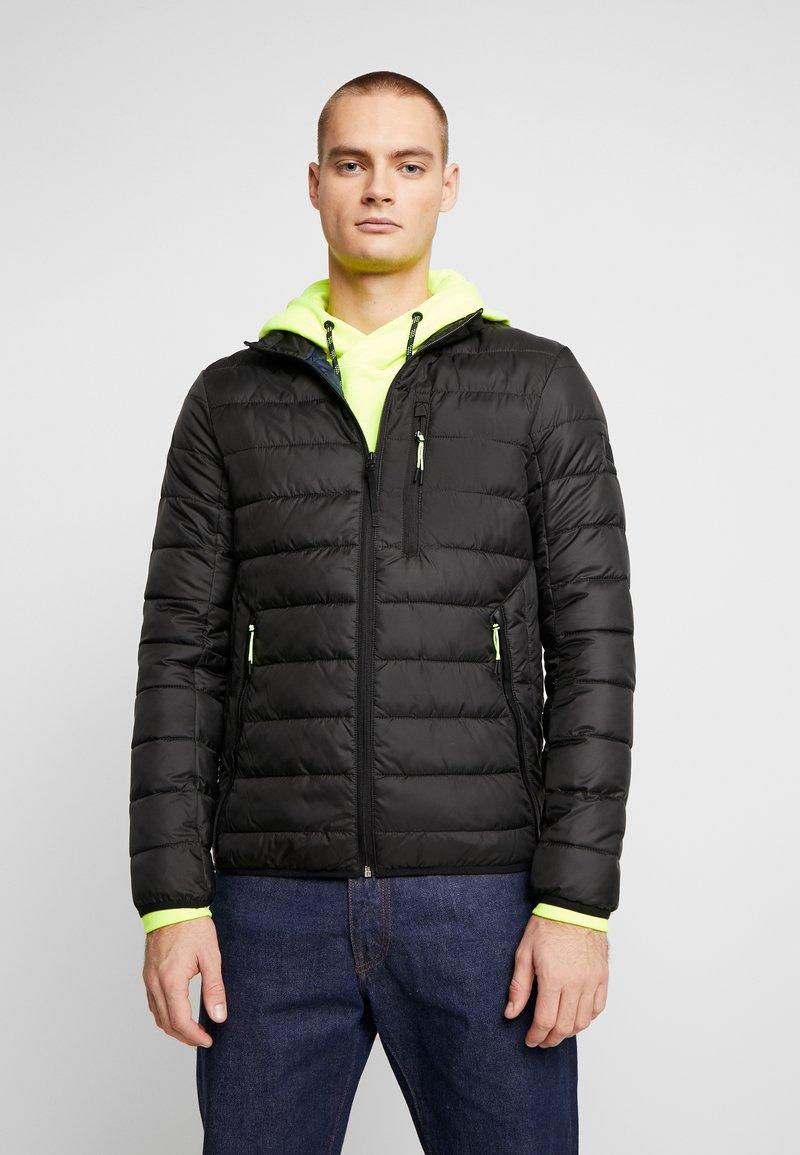 TOM TAILOR DENIM - LIGHTWEIGHT PADDED JACKET - Winter jacket - black