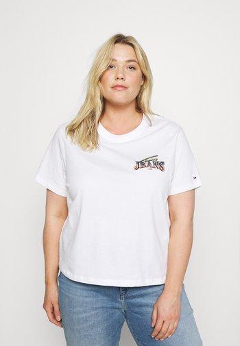 VINTAGE TEE - Print T-shirt - white