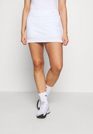 SKORT SINA - Sportovní sukně - white