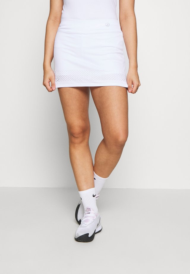SKORT SINA - Sportkjol - white