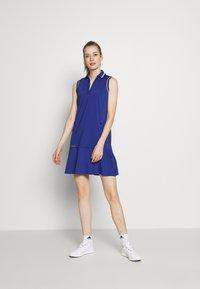 Polo Ralph Lauren Golf - DRESS SLEEVELESS CASUAL - Sportovní šaty - royal navy - 1
