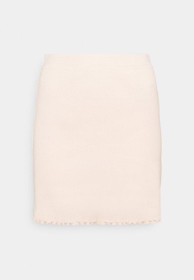VIBALU SKIRT - Mini skirt - peach blush