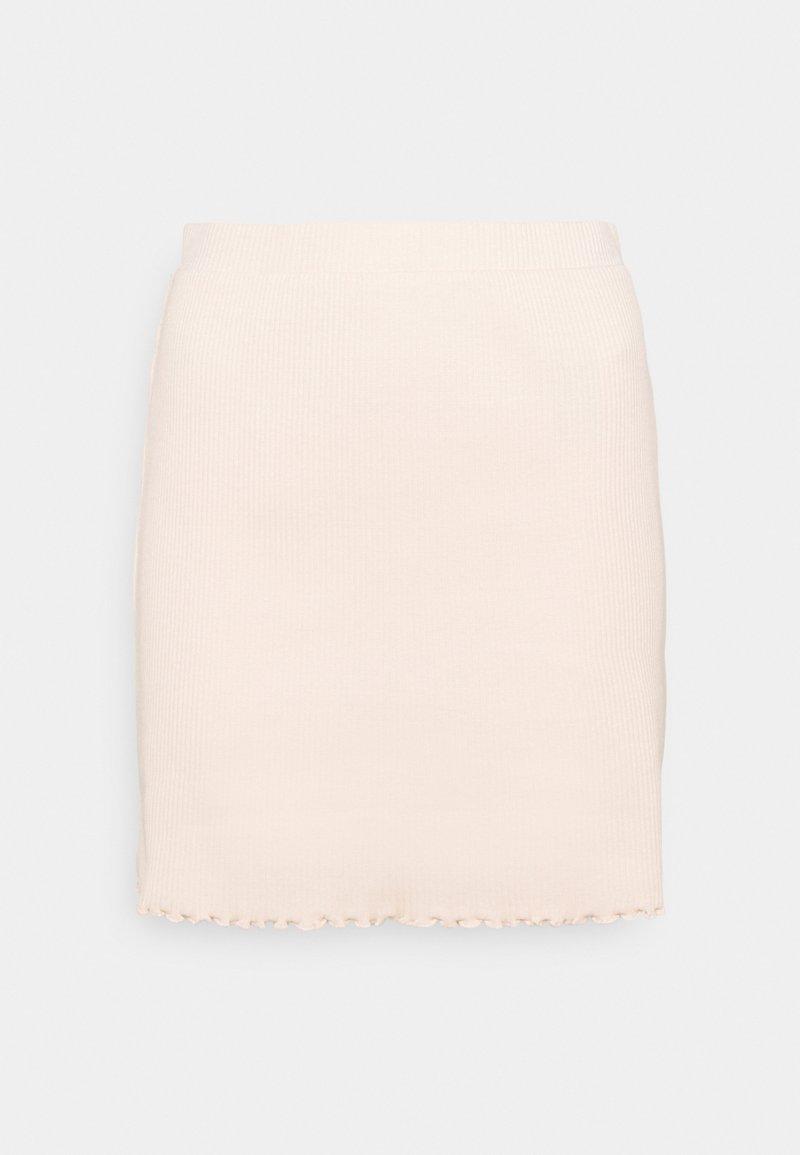 Vila - VIBALU SKIRT - Mini skirt - peach blush