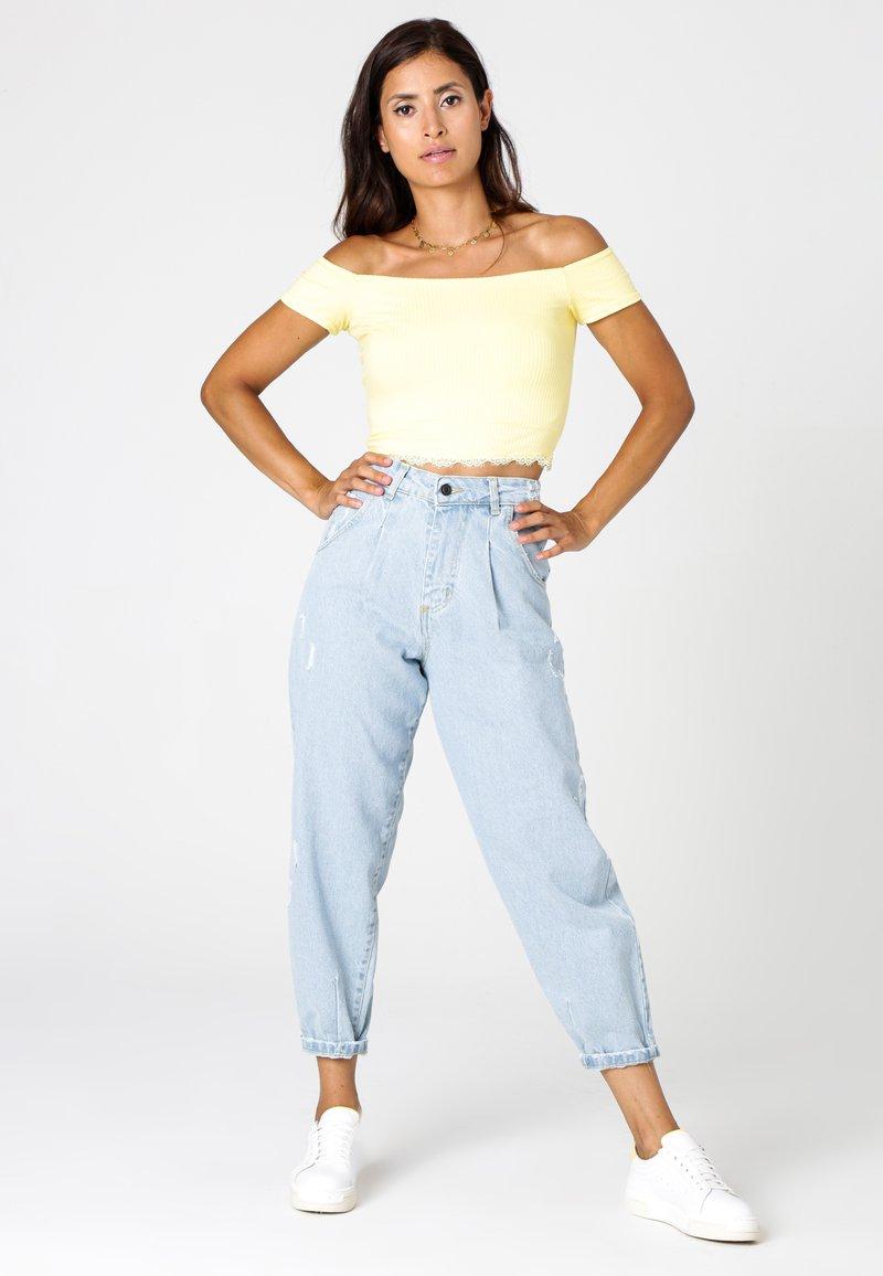 MiaZAYA - Relaxed fit jeans - jeansblau