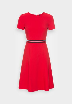 ANGELA FIT FLARE DRESS  - Cocktail dress / Party dress - primary red