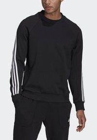 adidas Performance - CREW MUST HAVES SPORTS PULLOVER - Felpa - black - 3