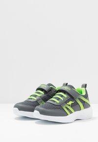 KangaROOS - INKO  - Sneakers - steel grey/lime - 3