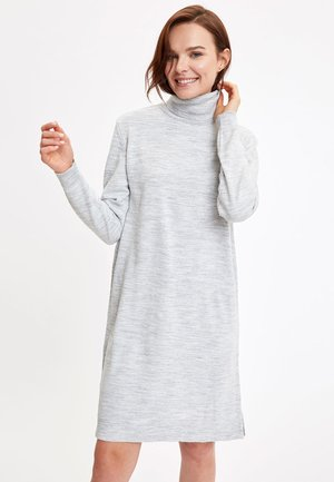 JUMPER - Jumper dress - grey
