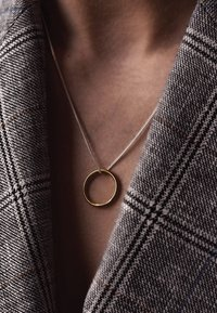 No More - CIRCLE NECKLACE - Necklace - gold - 0