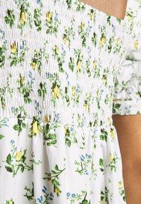 Faithfull the brand - ELDORA MINI DRESS - Denní šaty - white - 4