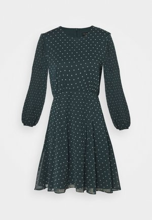 KOBIE DRESS - Korte jurk - dark green
