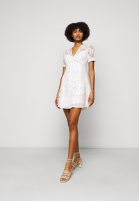 The Kooples - DRESS - Cocktail dress / Party dress - ecru - 1