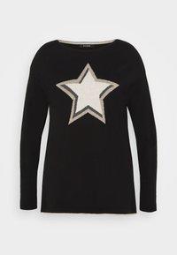 Evans - STAR JUMPER - Pullover - black - 0
