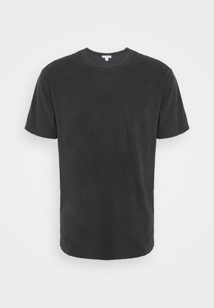 POCKET TEE - Jednoduché triko - anthracite