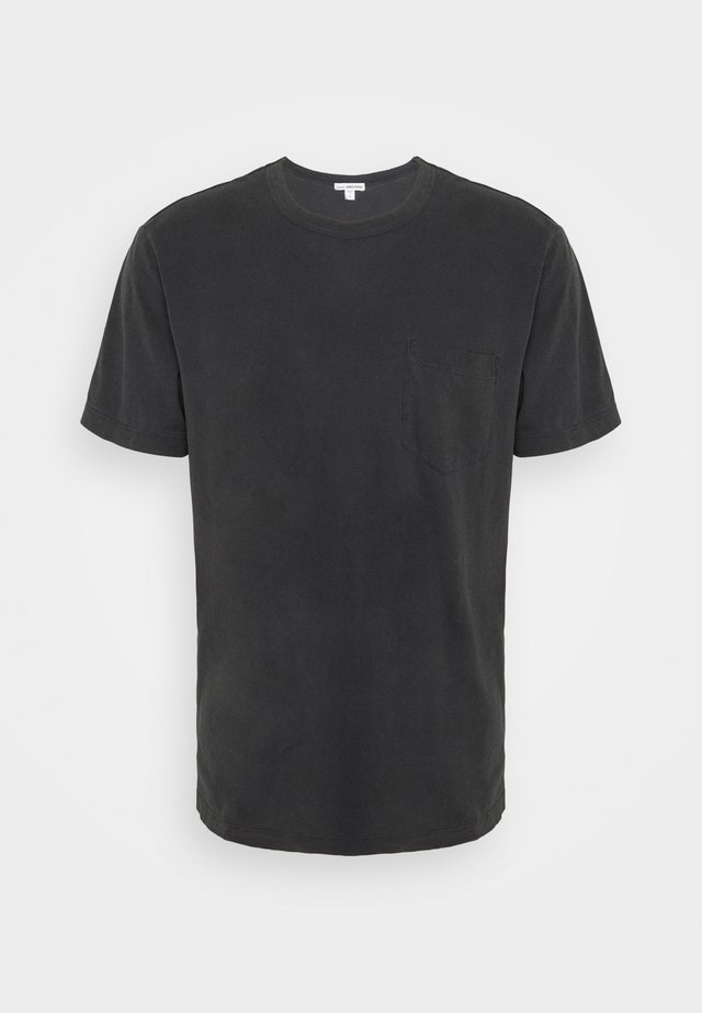 POCKET TEE - T-paita - anthracite