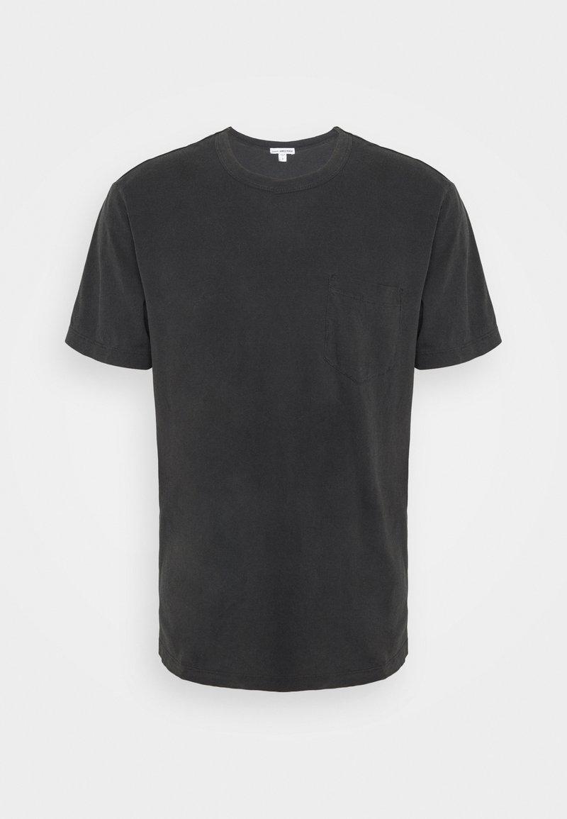James Perse - POCKET TEE - T-shirt basic - anthracite