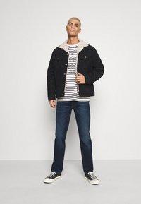 Lee - DAREN ZIP FLY - Jeans straight leg - dark sidney - 1