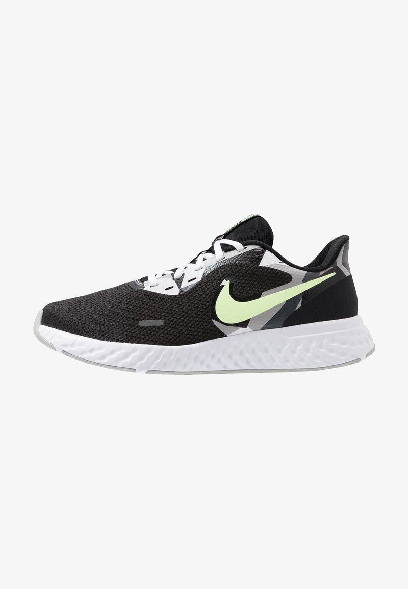 Nike Performance - REVOLUTION 5 - Zapatillas de running neutras - black/white/ghost green/sapphire/dark smoke grey/light smoke grey