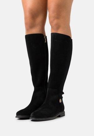 ESSENTIALS LONGBOOT - Boots - black