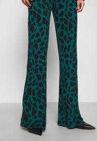 Diane von Furstenberg - CASPIAN PANTS - Trousers - medium teal - 4