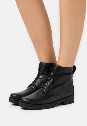 BOOTS  - Bottines à lacets - black matt