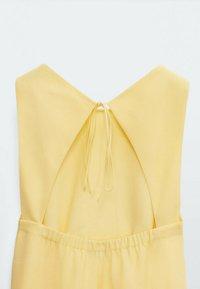 Massimo Dutti - Day dress - yellow - 3