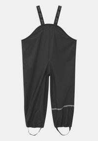CeLaVi - RAINWEAR PANTS  RAINWEAR UNISEX - Rain trousers - black - 1