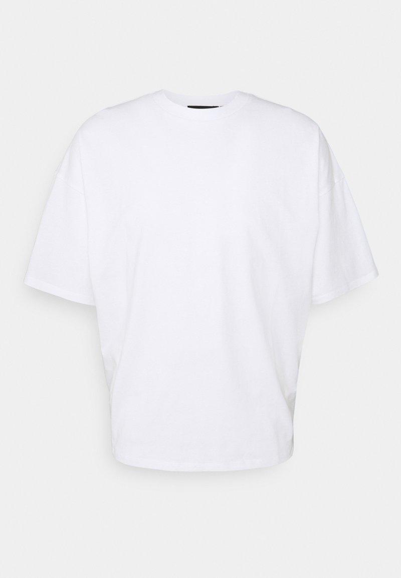 NU-IN - NU-IN x AZIZ LERN BOXY OVERSIZED - T-shirt basic - white